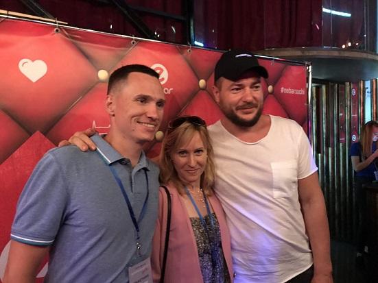 С Русланом Татунашвили, предпринимателем